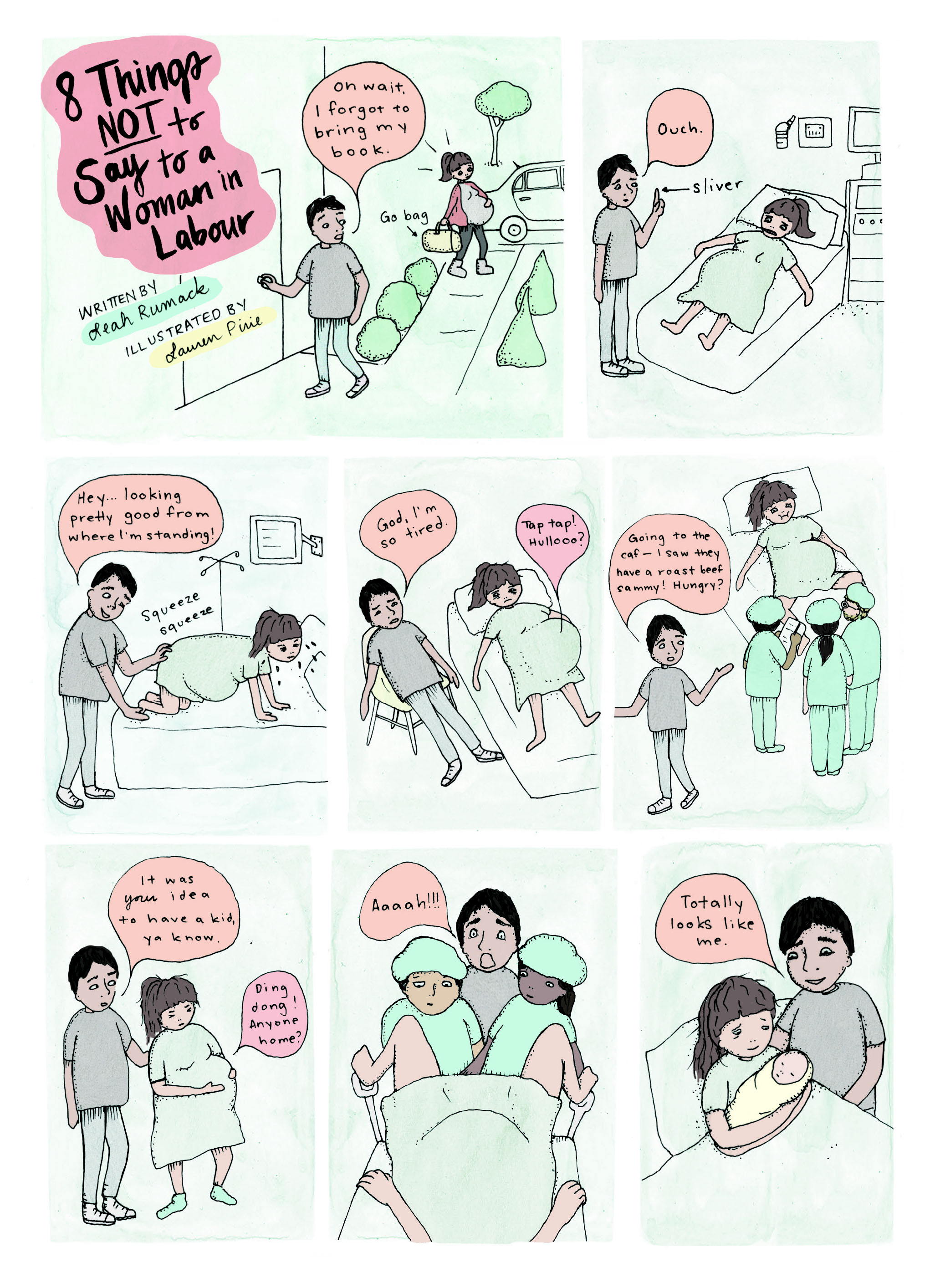 8 Things NOT to Say to a Woman in Labour