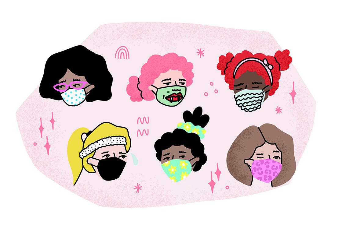 Face masks: Public health necessity but make it fashun!